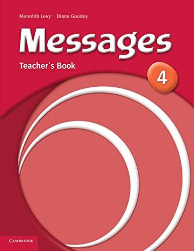 9780521614412: Messages 4 Teacher's Book