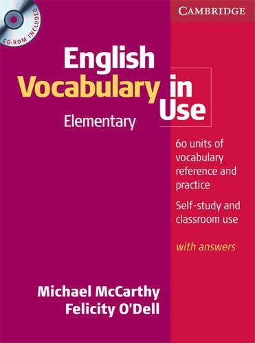 9780521614641: English Vocabulary in Use Elementary Book and CD-ROM