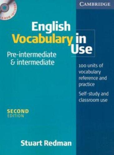 9780521614658: English vocabulary in use. Pre-intermediate and intermediate. Per le Scuole superiori. Con CD-ROM