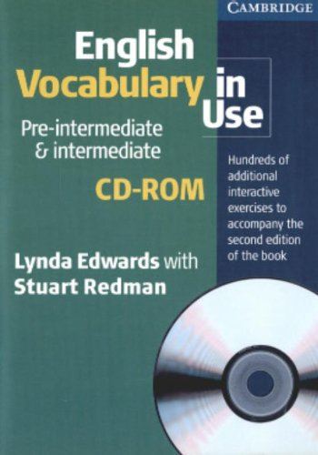 9780521614665: English Vocabulary in Use Pre-Intermediate and Intermediate CD-ROM
