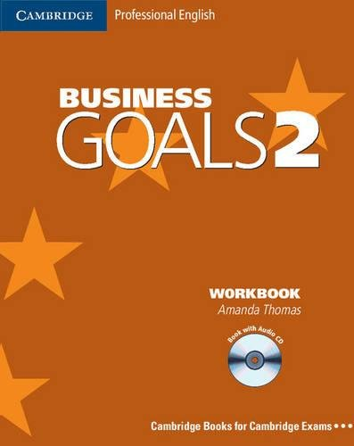 9780521614672: Business Goals 2 Workbook with Audio CD (Cambridge Professional English)