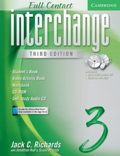 9780521614719: Interchange 3rd Full Contact 3 Student's Book with Audio CD/DVD: No. 3 (Interchange Third Edition)