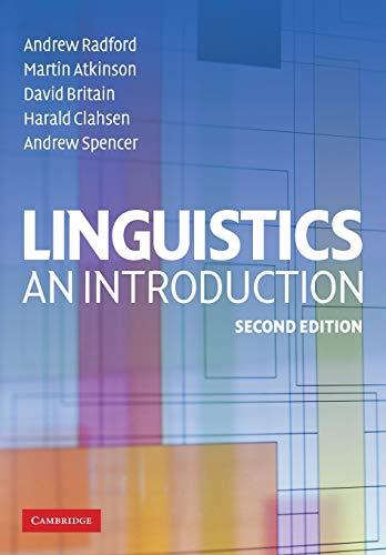 9780521614788: Linguistics: An Introduction