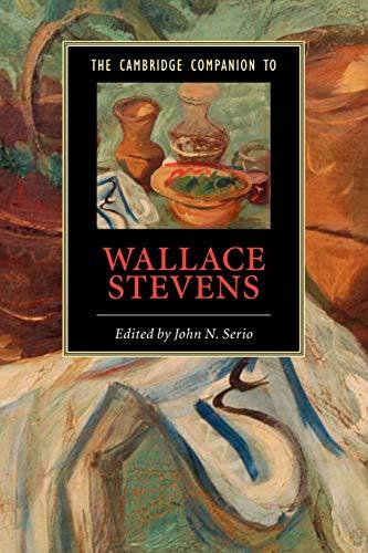 9780521614825: The Cambridge Companion to Wallace Stevens Paperback (Cambridge Companions to Literature)