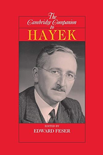 9780521615013: The Cambridge Companion to Hayek (Cambridge Companions to Philosophy)