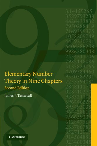 9780521615242: Elementary Number Theory in Nine Chapters