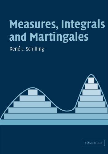 Measures, Integrals and Martingales: R. L. Schilling