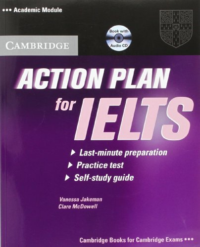 9780521615273: Action Plan for IELTS Self-study Pack Academic Module