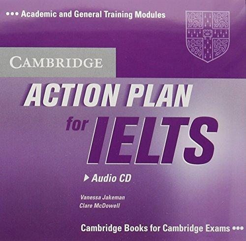 Action Plan for IELTS Audio CD: Vanessa Jakeman, Clare