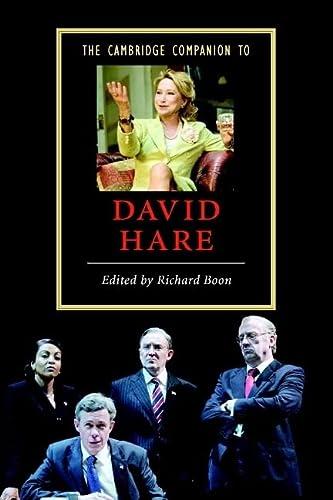 9780521615570: The Cambridge Companion to David Hare (Cambridge Companions to Literature)