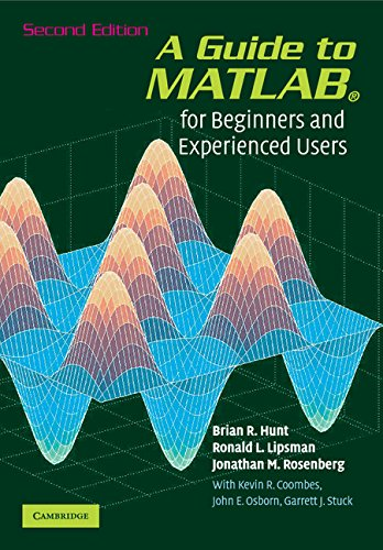 9780521615655: A Guide to MATLAB: For Beginners and Experienced Users