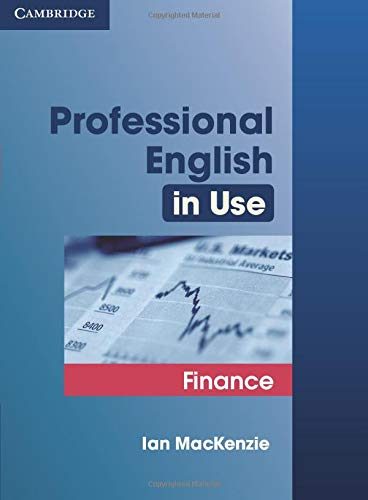 9780521616270: Professional English in Use Finance