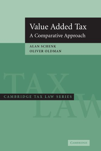 9780521616560: Value Added Tax: A Comparative Approach (Cambridge Tax Law Series)