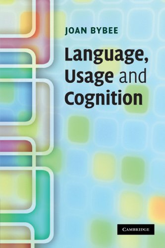 9780521616836: Language, Usage and Cognition Paperback