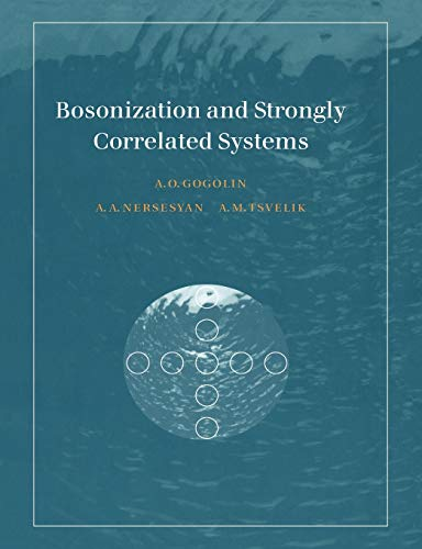9780521617192: Bosonization and Strongly Correlated Systems