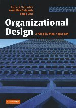 9780521617338: Organizational Design: A Step-by-Step Approach