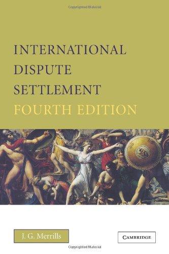 9780521617826: International Dispute Settlement