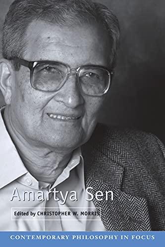 9780521618069: Amartya Sen (Contemporary Philosophy in Focus)