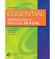 9780521618120: Essential Mathematical Methods CAS 3 and 4 with Student CD-ROM (Essential Mathematics)