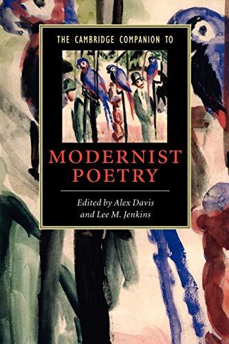 9780521618151: The Cambridge Companion to Modernist Poetry (Cambridge Companions to Literature)