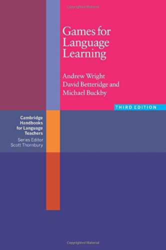 9780521618229: Games for Language Learning (Cambridge Handbooks for Language Teachers)