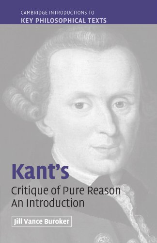 9780521618250: Kant's 'Critique of Pure Reason': An Introduction (Cambridge Introductions to Key Philosophical Texts)