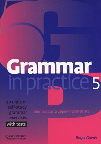 9780521618281: Grammar in Practice 5 (Face2face S)