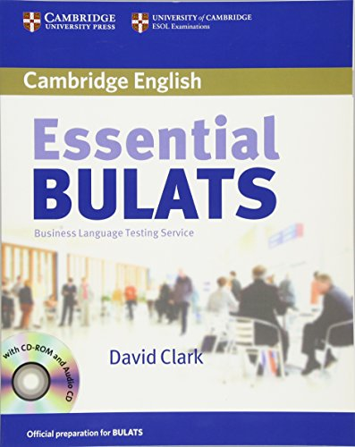 9780521618304: Essential Bulats. Student's Book with Audio-CD and CD-ROM: Pre-intermediate to Advanced. Business Language Testing Service. Cambridge ESOL