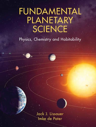 9780521618557: Fundamental Planetary Science: Physics, Chemistry and Habitability