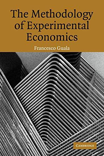 9780521618618: The Methodology of Experimental Economics