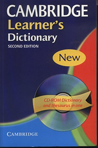 9780521618809: CAMBRIDGE LEARNER'S DICTIONARY