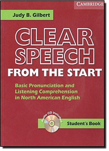 9780521619059: Clear Speech from the Start Student's Book with Audio CD: Basic Pronunciation and Listening Comprehension in North American English