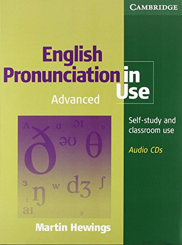 9780521619585: English Pronunciation in Use Advanced 5 Audio CDs