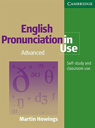 9780521619608: English Pronunciation in Use Advanced with Answers and Audio CDs (4)