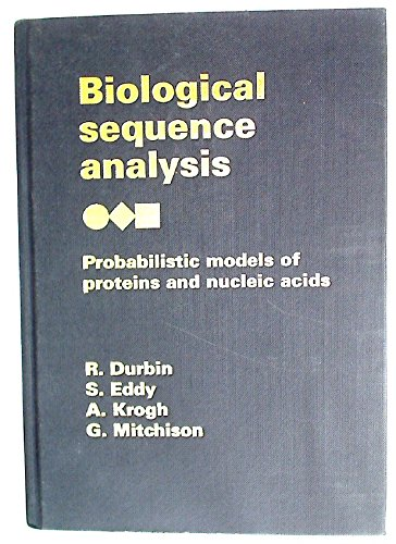 9780521620413: Biological Sequence Analysis: Probabilistic Models of Proteins and Nucleic Acids