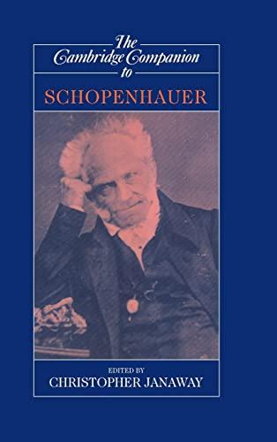 9780521621069: The Cambridge Companion to Schopenhauer (Cambridge Companions to Philosophy)