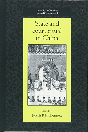9780521621571: State and Court Ritual in China (University of Cambridge Oriental Publications)