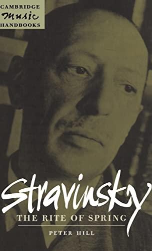 9780521622219: Stravinsky: The Rite of Spring (Cambridge Music Handbooks)
