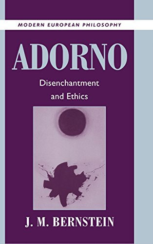 9780521622301: Adorno: Disenchantment and Ethics