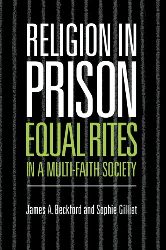 9780521622462: Religion in Prison Hardback: 'Equal Rites' in a Multi-Faith Society