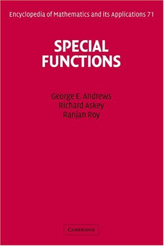 9780521623216: Special Functions