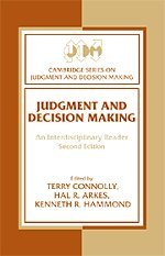 9780521623551: Judgment and Decision Making: An Interdisciplinary Reader (Cambridge Series on Judgment and Decision Making)