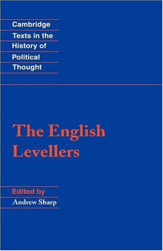9780521624022: The English Levellers Hardback (Cambridge Texts in the History of Political Thought)