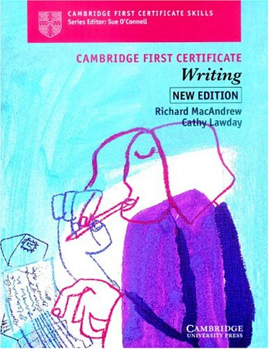 9780521624831: Cambridge First Certificate Writing Student's book (Cambridge First Certificate Skills)