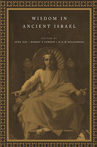 9780521624893: Wisdom in Ancient Israel