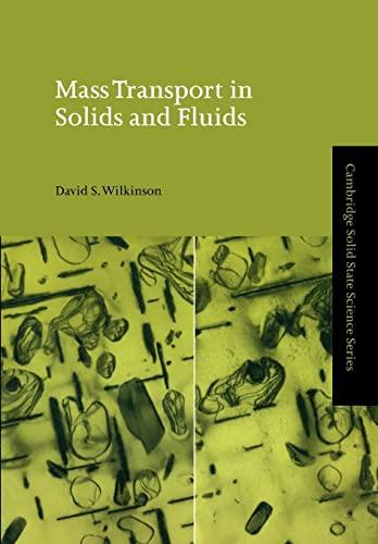Mass Transport in Solids & Fluids: Wilkinson
