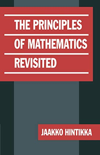 9780521624985: The Principles of Mathematics Revisited