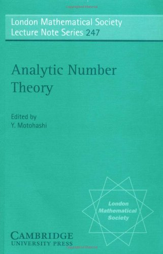 9780521625128: Analytic Number Theory
