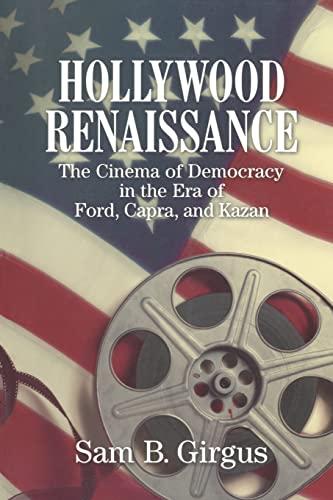 Hollywood Renaissance: The Cinema of Democracy in: Sam B. Girgus
