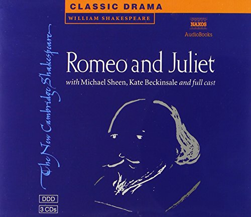 9780521625623: Romeo and Juliet 3 Audio CD Set (New Cambridge Shakespeare Audio)